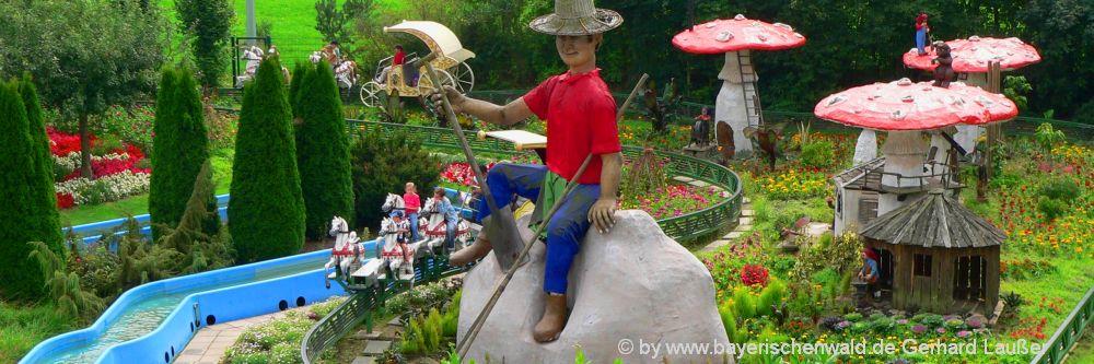 Freizeitpark für Familien und Kinder bei Cham