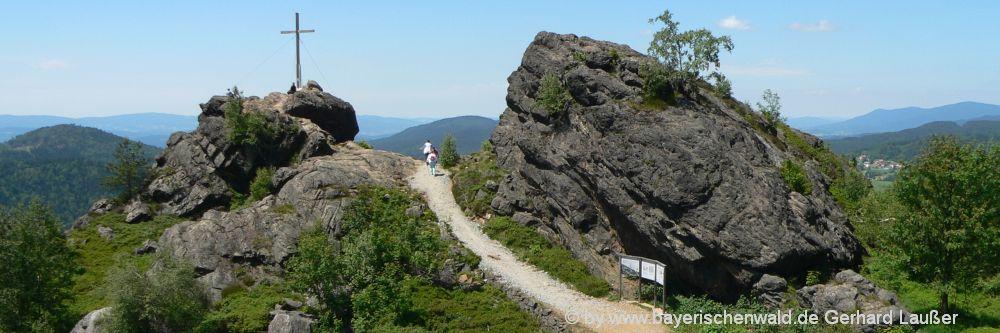 Sehenswürdigkeiten Bayerischer Wald Silberberg bei Bodenmais